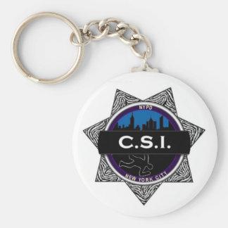 CSI New York TV Show Keychain Gift