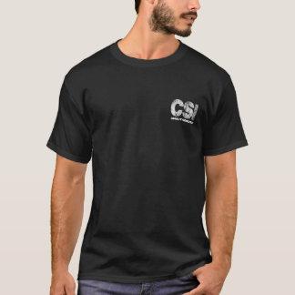 CSI Unauthorized Skull T-Shirt
