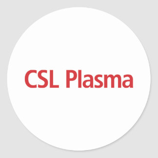 CSL Plasma Stickers
