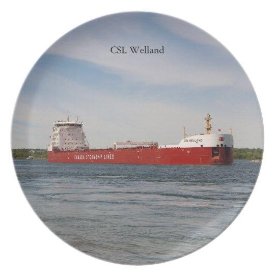 CSL Welland plate
