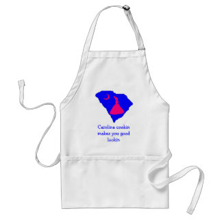 csom southern belle, Carolina cookin makes you ... Standard Apron