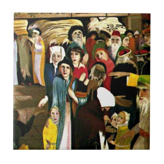 Csontvary - At the Wailing Wall in Jerusalem