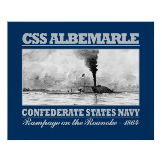 CSS Albemarle (B) Poster