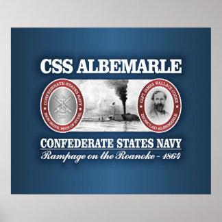 CSS Albemarle (CSN) Poster