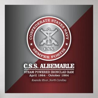 CSS Albemarle (SF) Poster