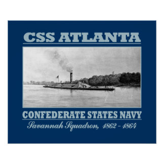 CSS Atlanta (B) Poster