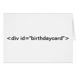 "CSS <div id=""birthdaycard""> Birthday Card"