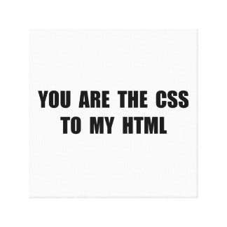 CSS HTML CANVAS PRINTS