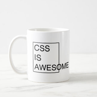 CSS IS AWESOME mug