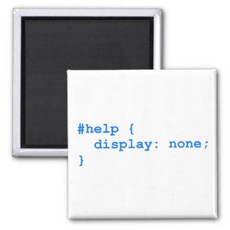 CSS no help Kühlschrankmagnet