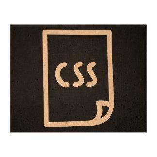 Css Pads Graphic Queork Photo Print