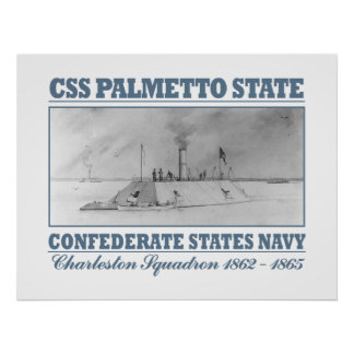 CSS Palmetto State Poster
