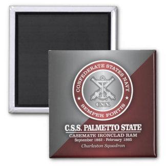 CSS Palmetto State (SF) Square Magnet