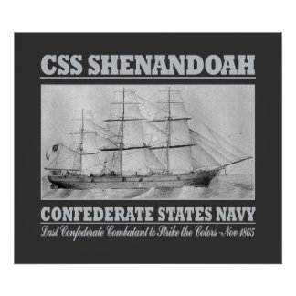CSS Shenandoah (B) Print