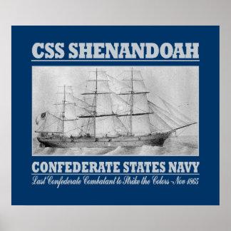 CSS Shenandoah (B) Poster