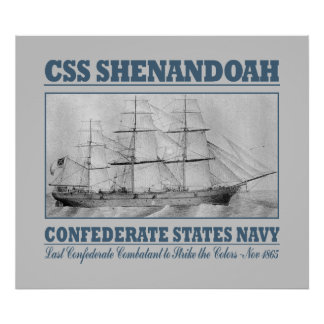 CSS Shenandoah Posters