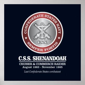 CSS Shenandoah (SF) Poster