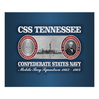 CSS Tennessee (CSN) Poster