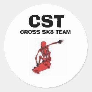 CST sticker