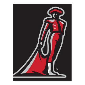 CSUN Matador - Black Postcard
