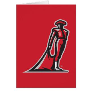 CSUN Matador - Red Note Card