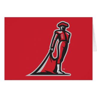 CSUN Matador - Red Greeting Card
