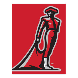 CSUN Matador - Red Postcard