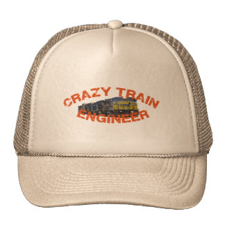 CSX Crazy Train Engineer Hat