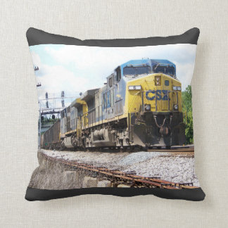 CSX Railroad AC4400CW #6 With a Coal Train Cushion