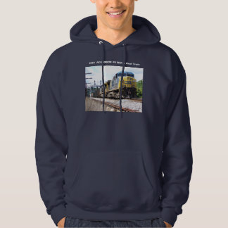 CSX Railroad AC4400CW #6 With a Coal Train Hoodie