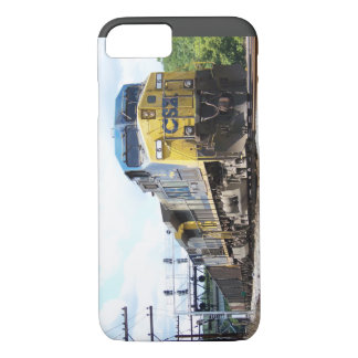 CSX Railroad AC4400CW #6 With a Coal Train iPhone 7 Case
