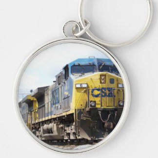 CSX Railroad AC4400CW #6 With a Coal Train Key Ring