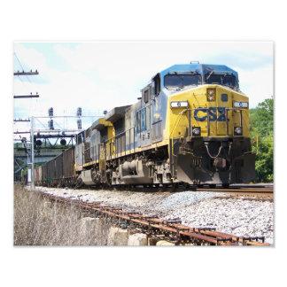 CSX Railroad AC4400CW 6 With a Coal Train Photo