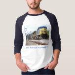 CSX Railroad AC4400CW #6 With a Coal Train Ringer T-Shirt