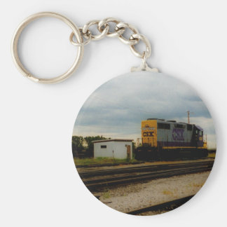 CSX Railroad Dieesel Yard Engine Toledo, OH Keychain