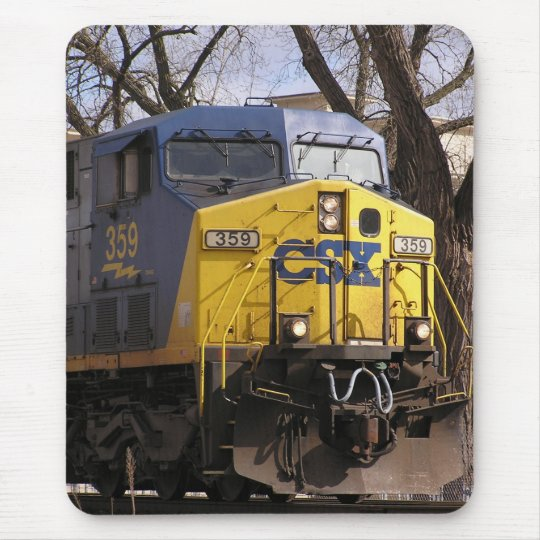 CSX Train Mouse Mat