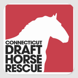 CT Draft Horse Rescue Sticker