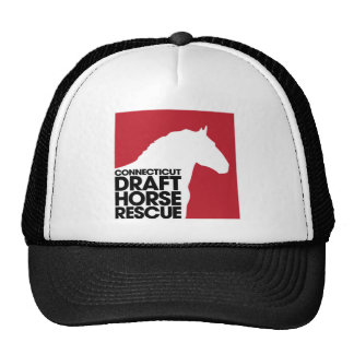 CT Draft Horse Rescue trucker cap