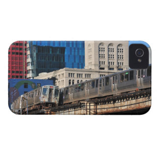 CTA rapid transit Orange Line and Green Line iPhone 4 Cover