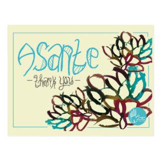 CTC International - Asante Postcard