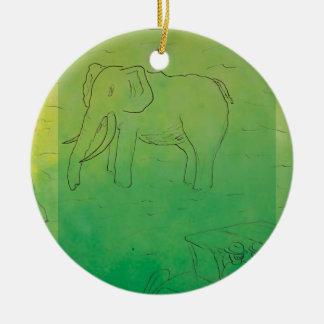 CTC International - Elephant Ornaments