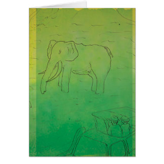 CTC International - Elephant Greeting Card