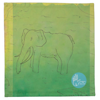 CTC International - Elephant Napkin
