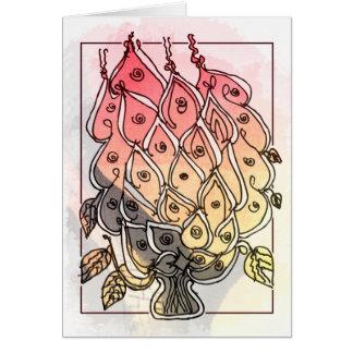 CTC International -  Flowers 2 Greeting Card