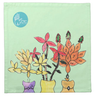 CTC International - Flowers Napkin
