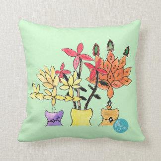 CTC International - Flowers Throw Pillow