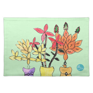 CTC International - Flowers Placemats