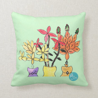 CTC International - Flowers Throw Cushion