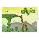 CTC International - Giraffe Greeting Card