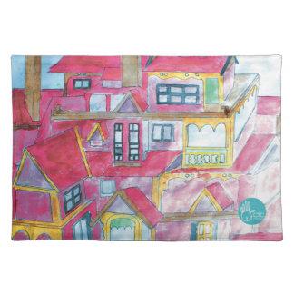 CTC International - Houses Place Mat